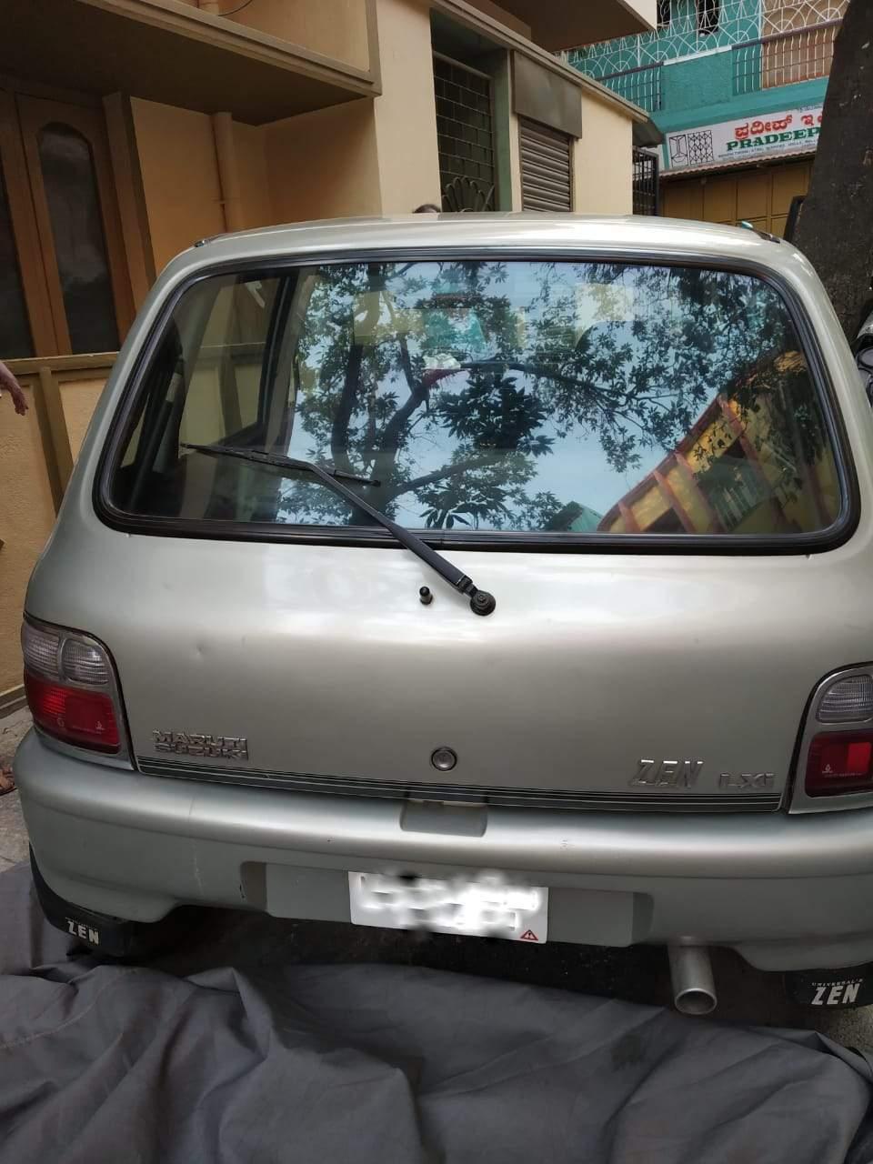 Maruti Suzuki Zen Left Side View