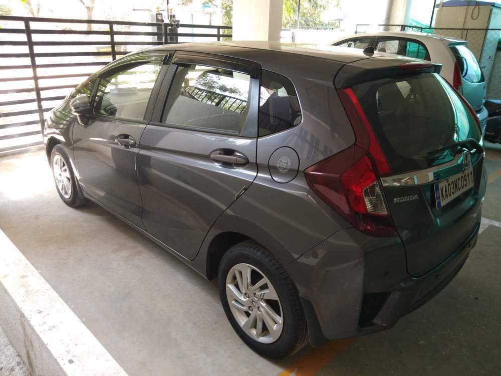 Used Honda Jazz V Cvt Petrol In Bangalore 2018 Model India At