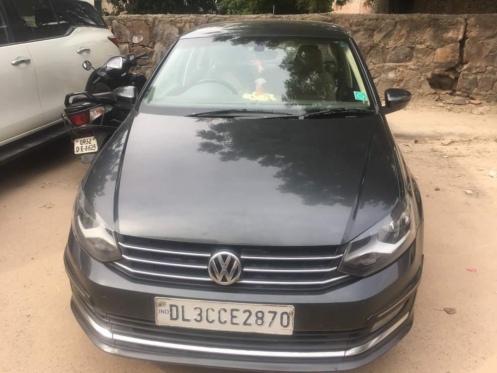 Volkswagen Vento Left Side View