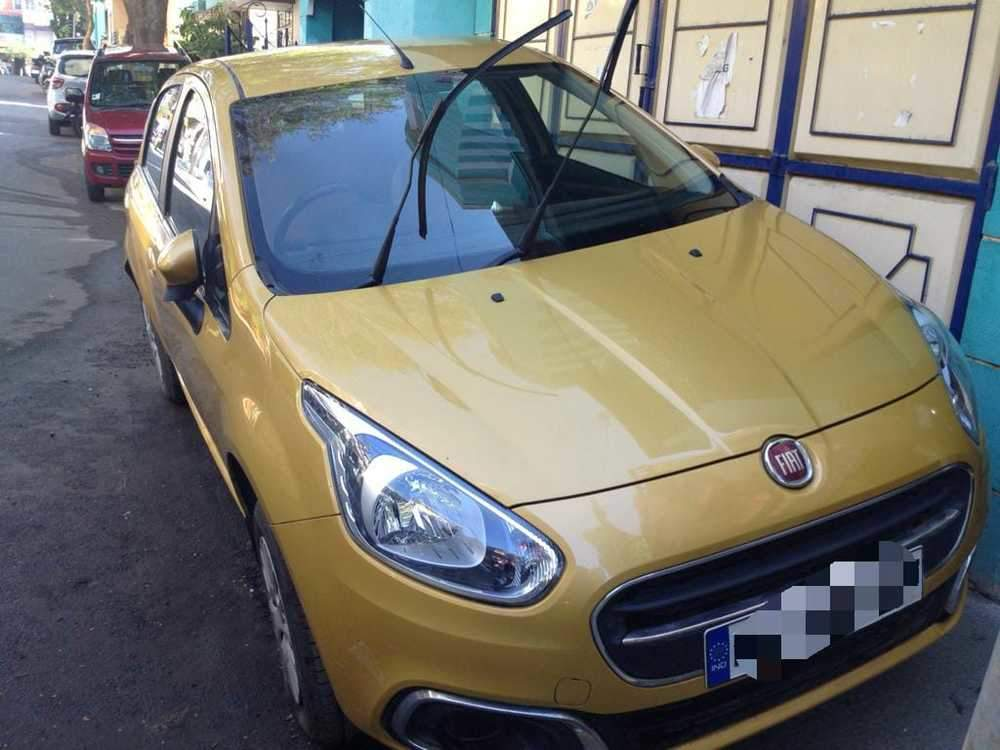 Fiat Punto Evo Left Side View