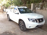 Nissan Terrano Rear Left Side Angle View
