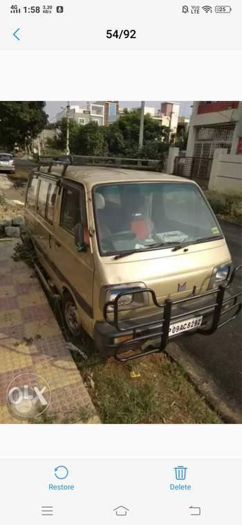 c604280245e15e Used Maruti Suzuki Omni E MPI STD BS 3 (1999) in K.V.Rangareddy ...