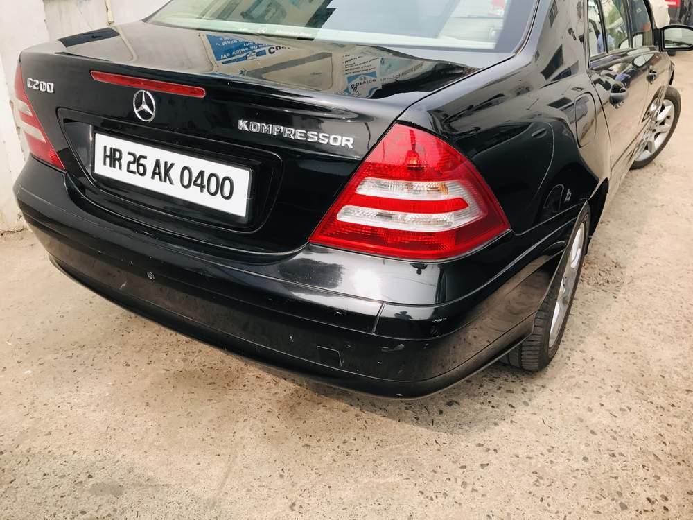 Mercedes Benz C Class Left Side View