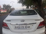 New Hyundai Verna Rear Left Side Angle View