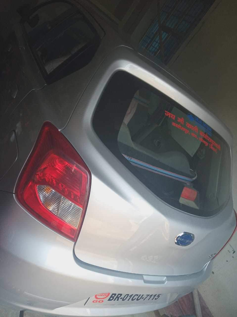 Datsun Go Front Left Rim