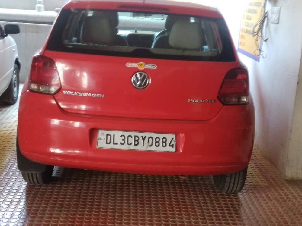 Volkswagen Polo Hood Open View
