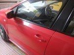 Volkswagen Polo Front Right Side Angle View