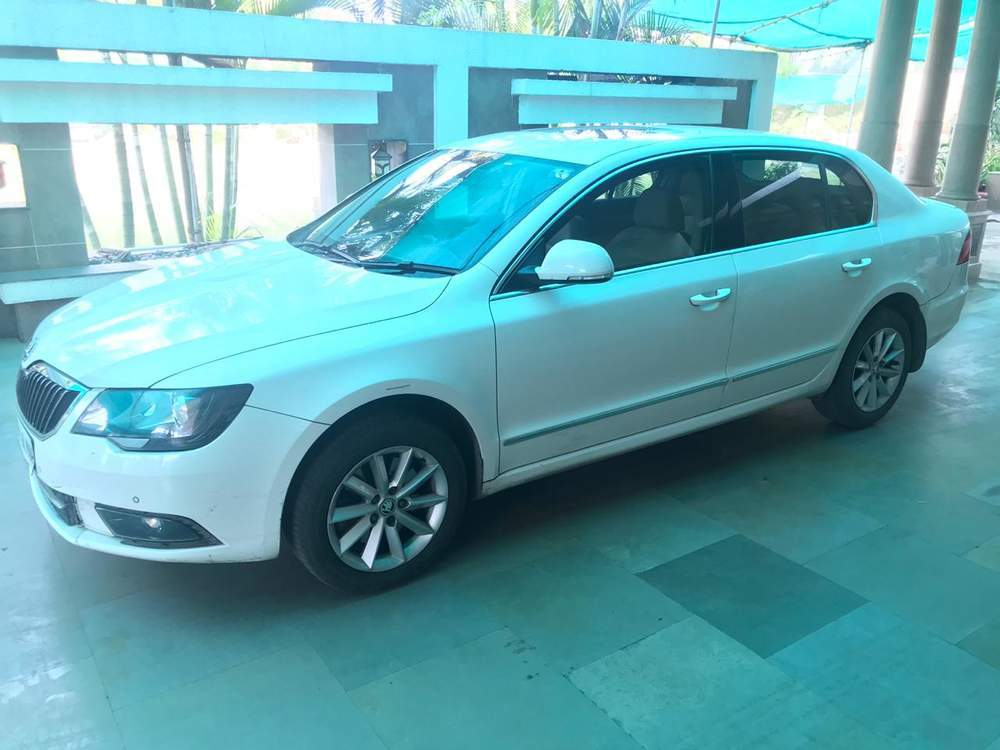 Skoda Superb Rear Right Rim
