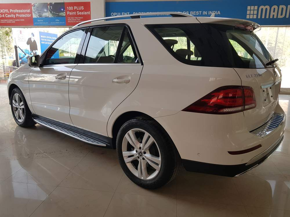 Mercedes Benz Gle Class Left Side View