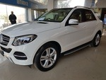 Mercedes Benz Gle Class Rear Left Side Angle View