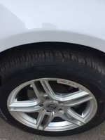 Volkswagen Jetta Rear Left Rim
