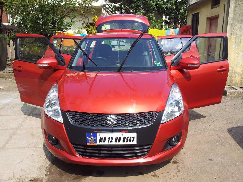 New Maruti Suzuki Swift Front Left Rim