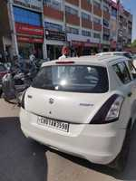 New Maruti Suzuki Swift Rear Left Side Angle View