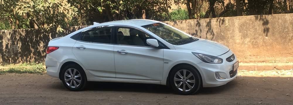 Hyundai Verna Rear Left Rim