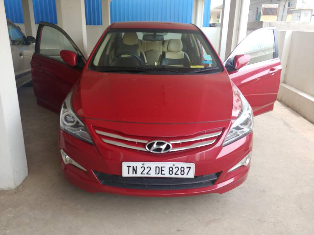 Hyundai Verna Front Left Rim