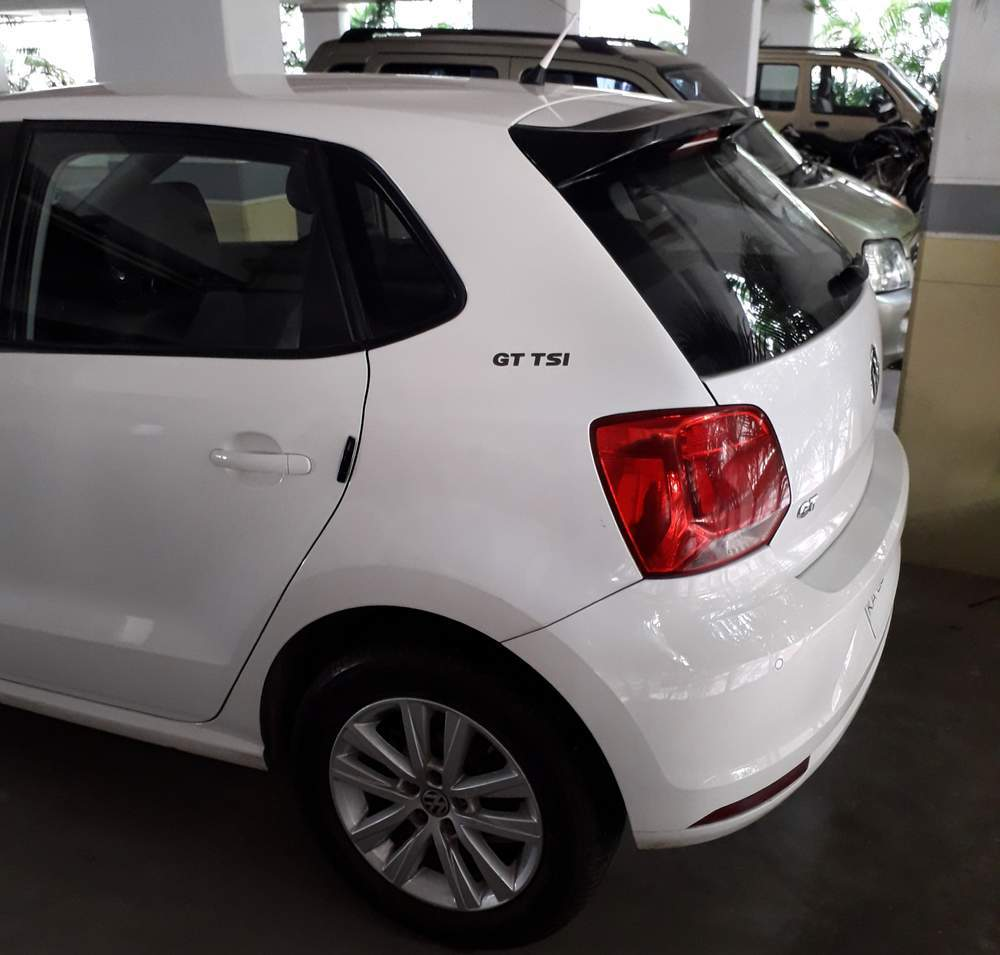 Volkswagen Polo Rear Left Side Angle View
