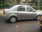 Mahindra Renault Logan Rear View