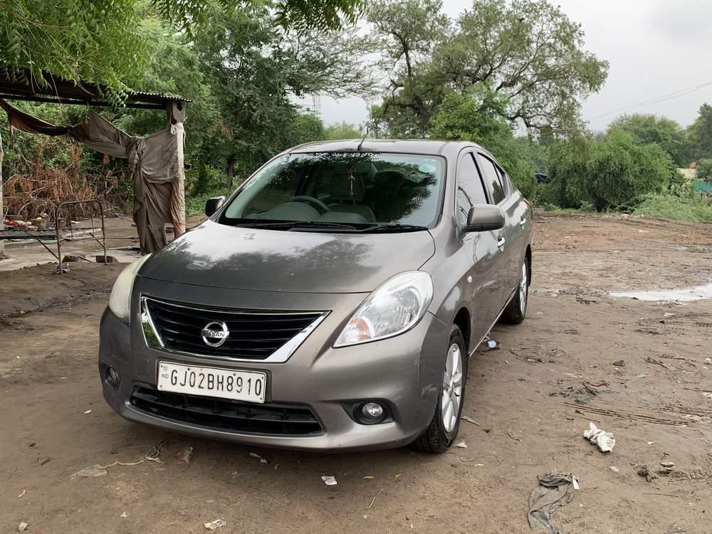 Nissan Sunny Rear Right Rim