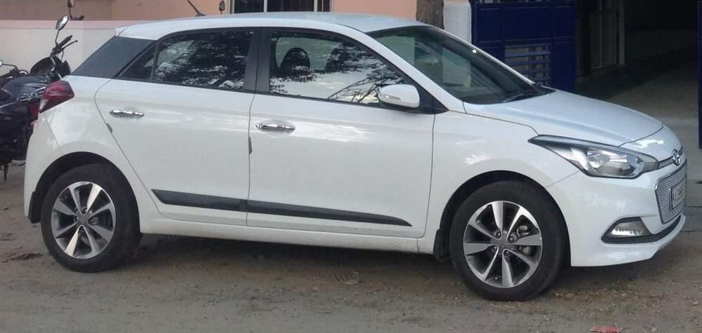 Hyundai Elite I20 Front Left Rim