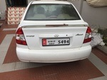 Hyundai Accent Rear Right Side Angle View