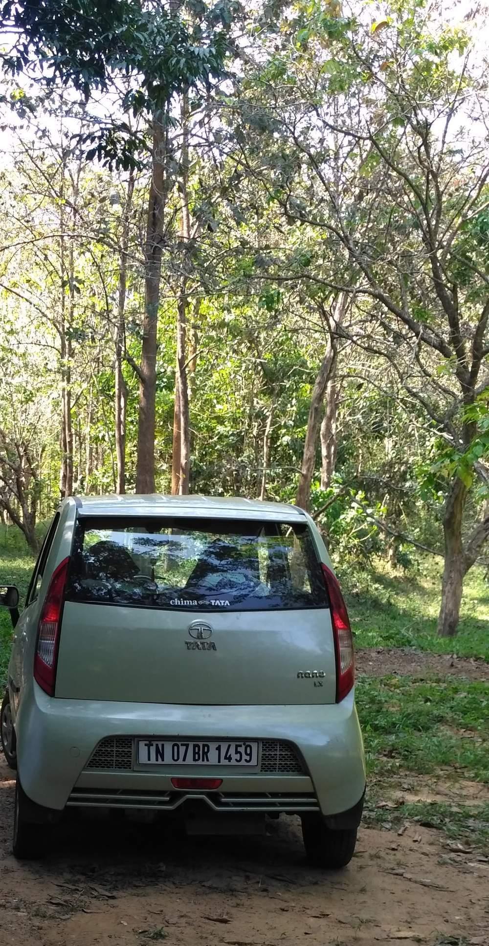 Tata Nano Front Left Rim