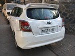 Datsun Go Plus Left Side View