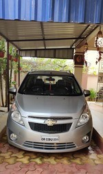Chevrolet Beat Rear Left Side Angle View
