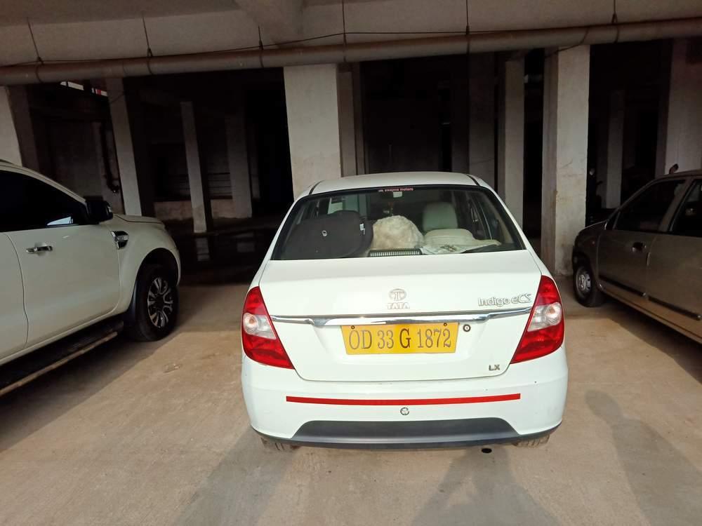Tata Indigo Ecs Left Side View