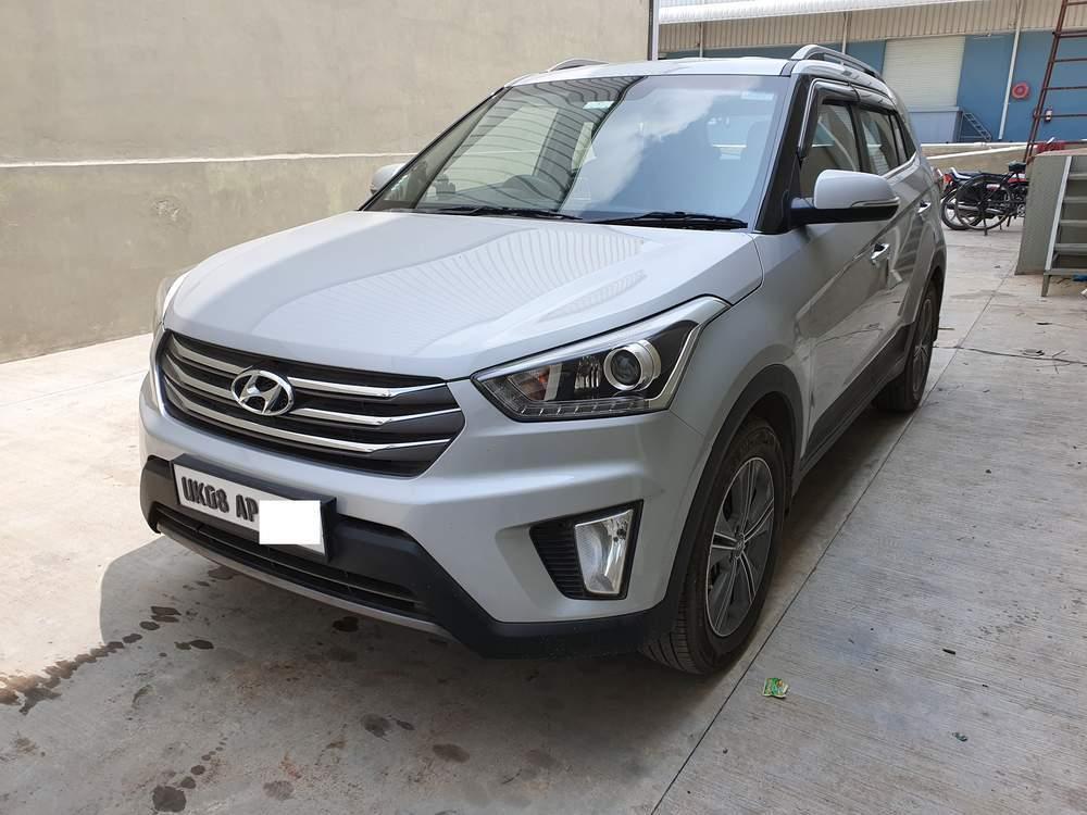 Hyundai Creta Left Side View