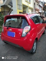 Chevrolet Beat Rear Right Side Angle View