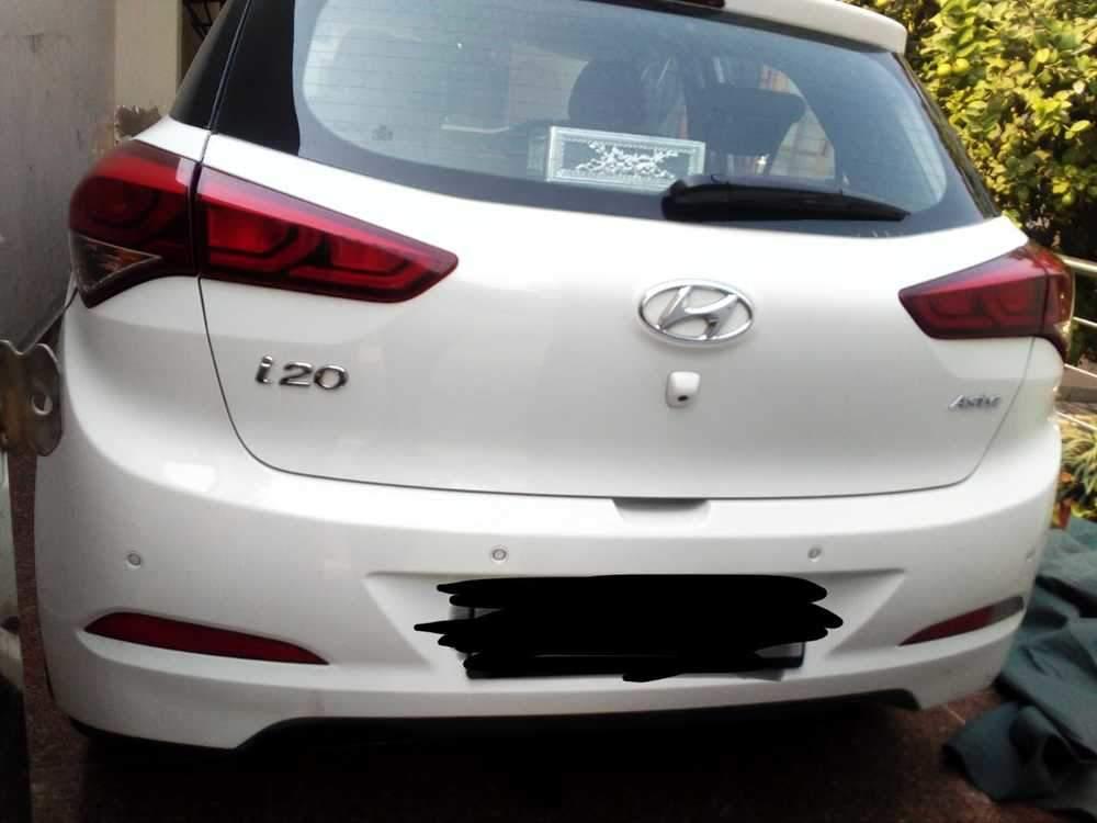 Hyundai Elite I20 Left Side View