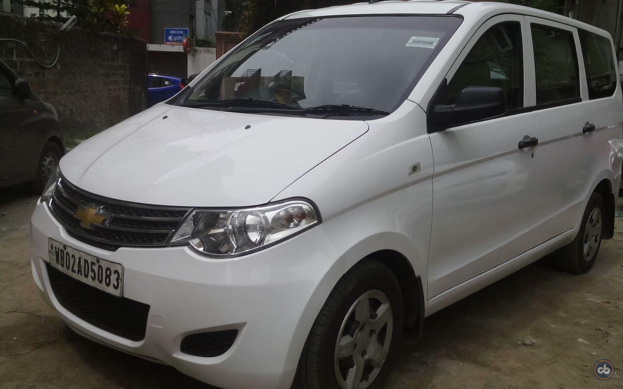 Used Chevrolet Enjoy 1 4 Ls 8 Seater In Kolkata 2013 Model India At