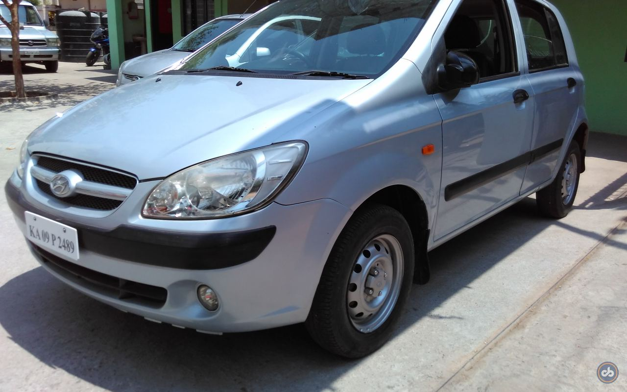 Hyundai Getz Prime Front Left Side Angle View
